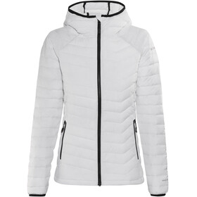 Columbia Powder Lite Hooded Jacket Women White/Black